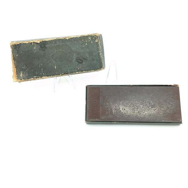 "Antique ""Unbreakable Razor Hone"" Sharpening Stone"