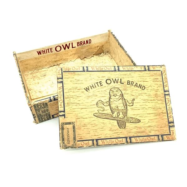 White Owl Brand Cigar Box