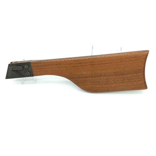 Detachable Unknown Wood Stock for a Pistol