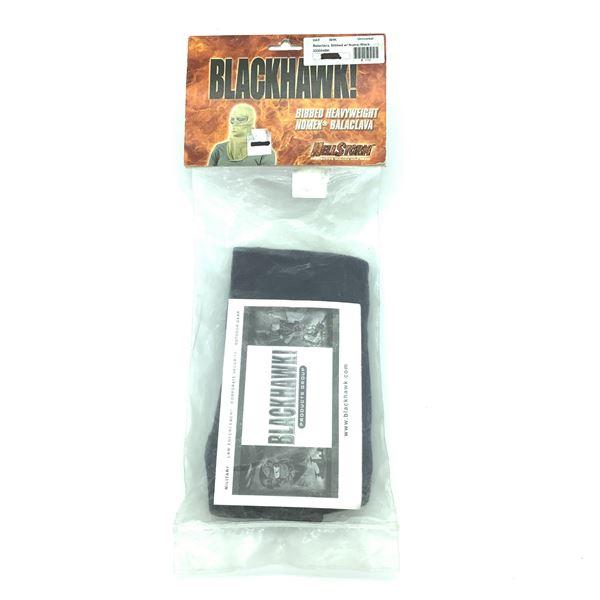 Blackhawk Balaclava, Bibbed with Nomex, Black, New