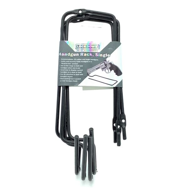 Lockdown Handgun Rack, Single, New