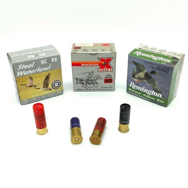 Assorted 12 Ga Ammunition - 57 Rnds