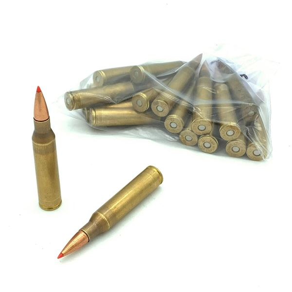 Loose 338 Lapua Mag Ammunition - 19 Rnds