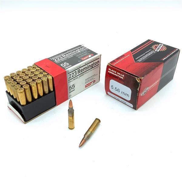 Assorted 223 REM Ammunition - 81 Rnds