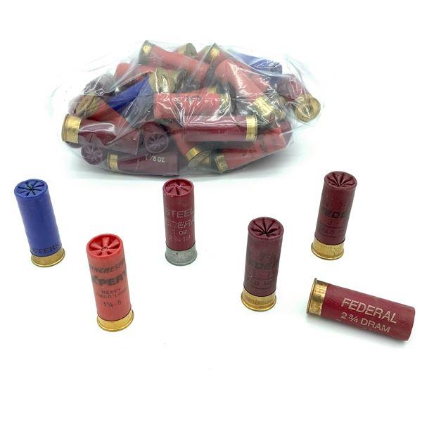 Assorted Loose 12 Ga Ammunition - 49 Rnds