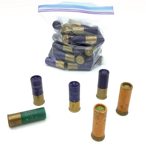 Assorted Loose 12 Ga Ammunition - 36 Rnds