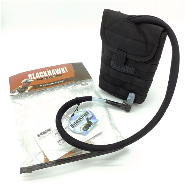 Blackhawk Side Hydration Pouch with Speed Clips, New