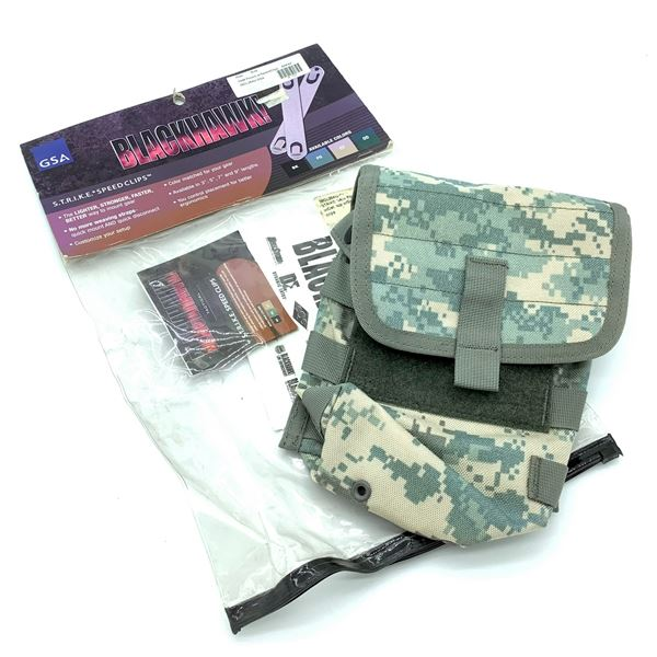 Blackhawk S.T.R.I.K.E Saw Pouch with Detachable Top & Speed Clips, New