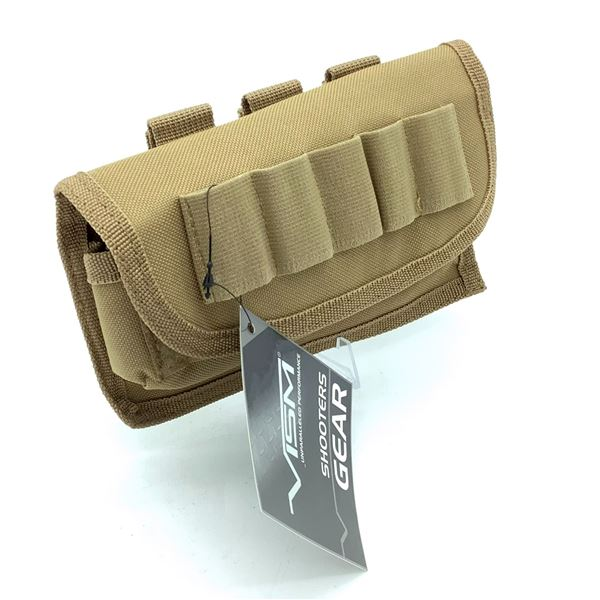 Vism Tactical Shot-shell Carrier in Tan, New