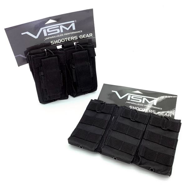 2 Vism AR Mag Pouches, New