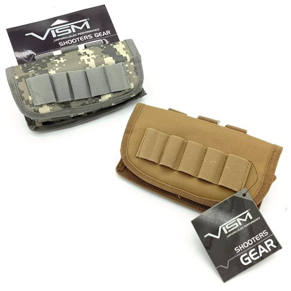 2 Vism Tactical Shot-shell Carriers, New