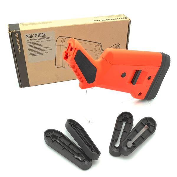 Magpul SGA Stock for Mossberg 500/590 - Orange, New