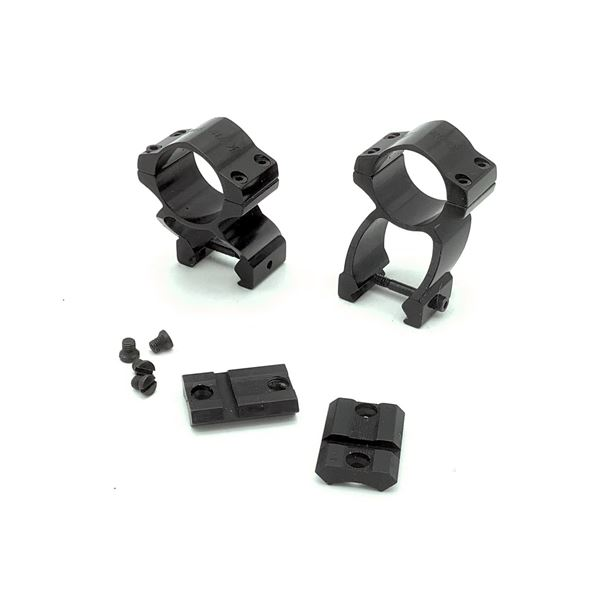 Traditions Pursuit Scope Rings & Bases Set