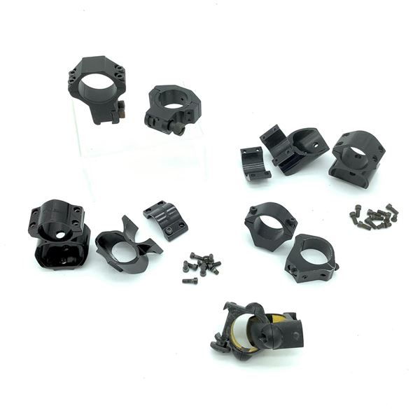 10 Assorted Scope Rings