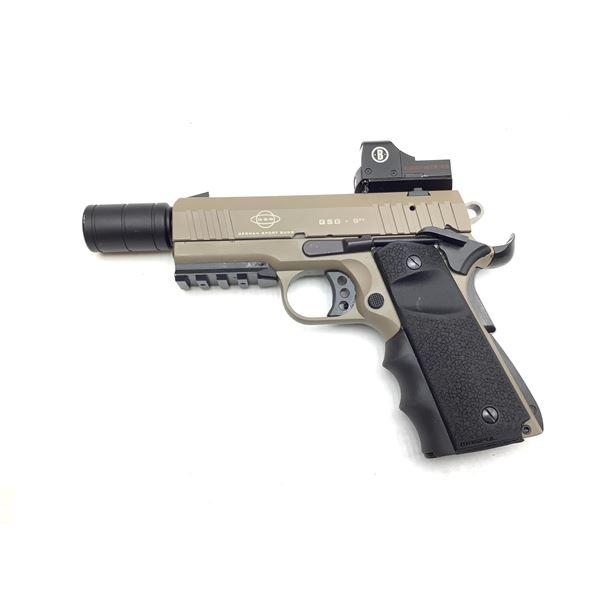 "German Sport Guns ""GSG 9 -22 22lr, Pistol, with Burris First Strike Red Dot, Used"