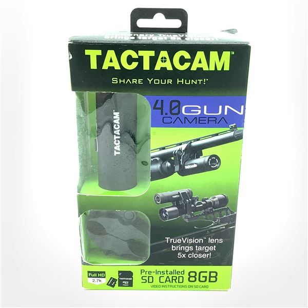TactacCam 4.0 Gun Camera with SD Card, Demo
