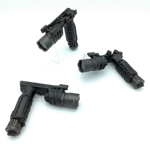 3 Surefire Forend Flashlight Mounts, Not Tested