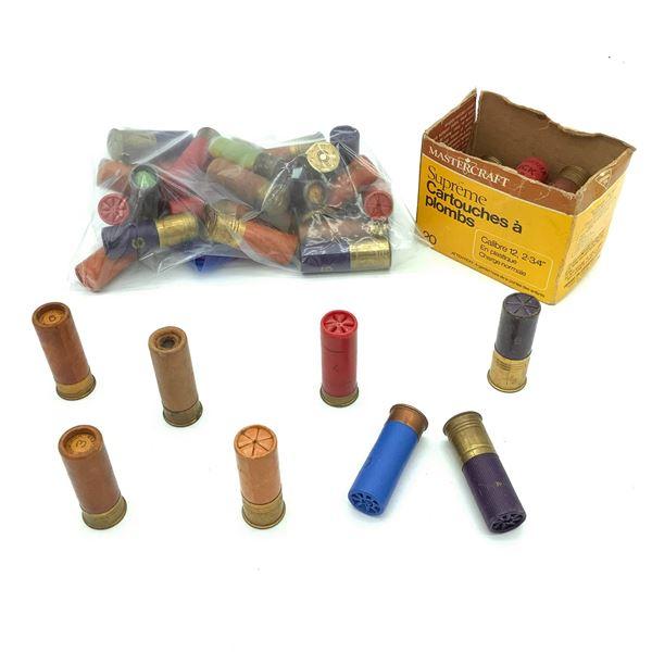 Assorted Loose 12 Ga Ammunition - 41 Rnds
