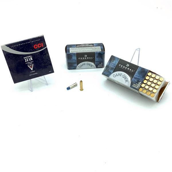 Assorted 22 LR Ammunition - 119 Rnds