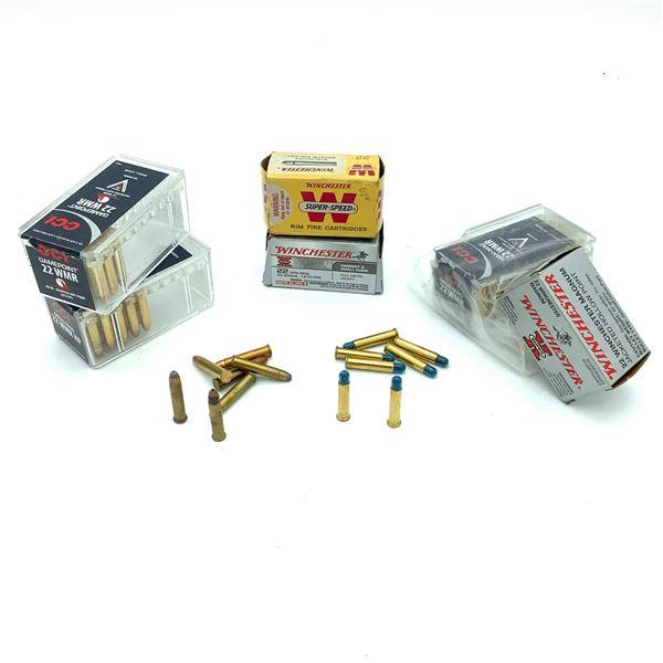 Assorted 22 WMR Ammunition - 208 Rnds