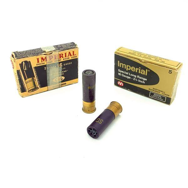 Imperial 16 Ga Ammunition - 6 Rnds