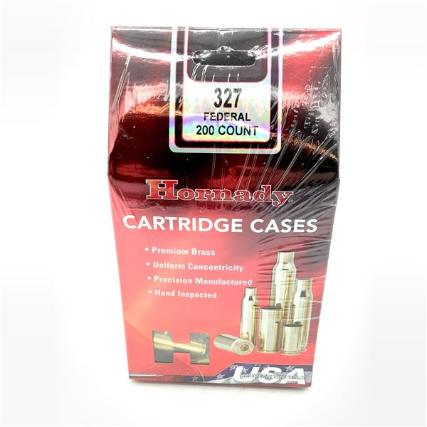 Hornady 327 Federal Cartridge Cases - 200 Count, New
