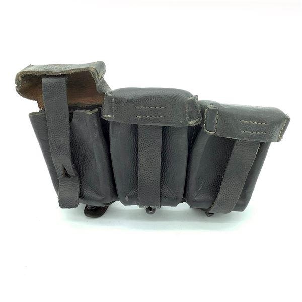 Leather German Ammunition Pouch