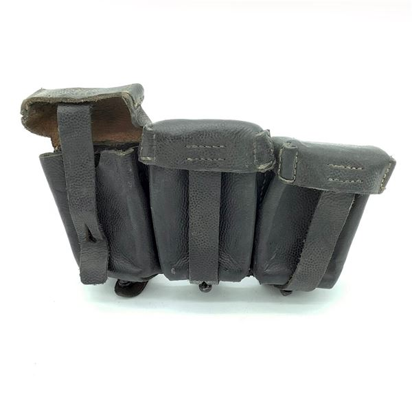 WWII German K98 Leather Ammunition Pouch