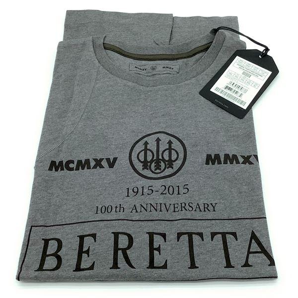 Beretta Centennial T-Shirt, Grey - XXL, New