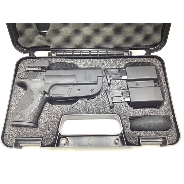 Smith and Wesson M& P 9 Range Kit, 9mm, Semi Auto Pistol, with Vortex Viper Red Dot