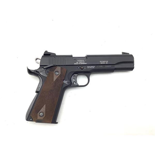 Sig Sauer 1911-22, 22lr Semi Auto Pistol