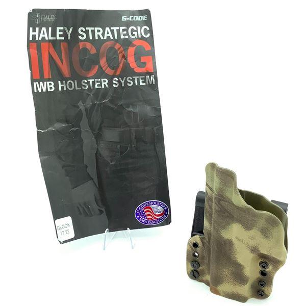 G - Code Incog IWB Kydex Holster - Glock 17, 22, New