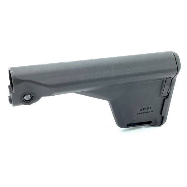 IMI Defense SRS-1 Black Synthetic Buttstock - M16/AR15 or SR25/308, New