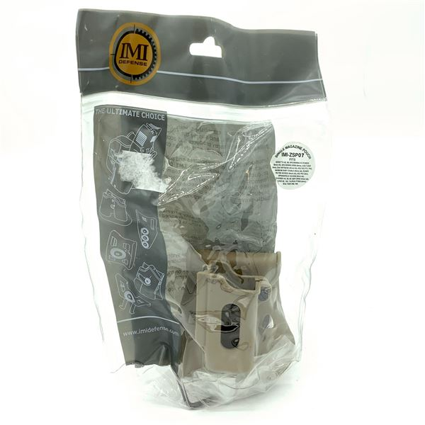 IMI Defense Single Magazine Paddle Holster - Fits Most 9mm, New