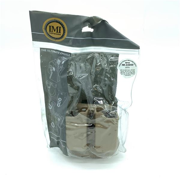 IMI Defense Double Magazine Paddle Holster - Fits Most .45 Cal, New