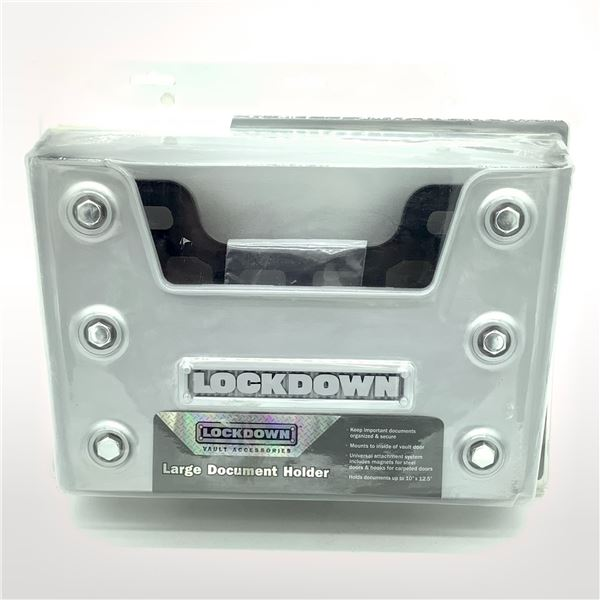 Lockdown Large Document Holder, New