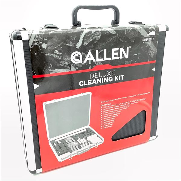 Allen Deluxe Cleaning Kit - 60 PC, New