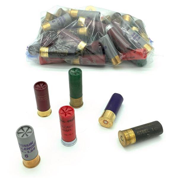 Assorted Loose 12 Ga Ammunition - 54 Rnds
