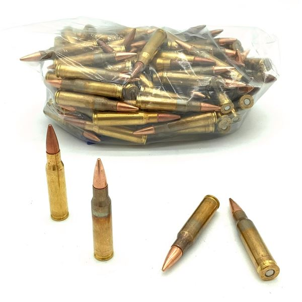 Assorted Loose 308 Ammunition - 124 Rnds