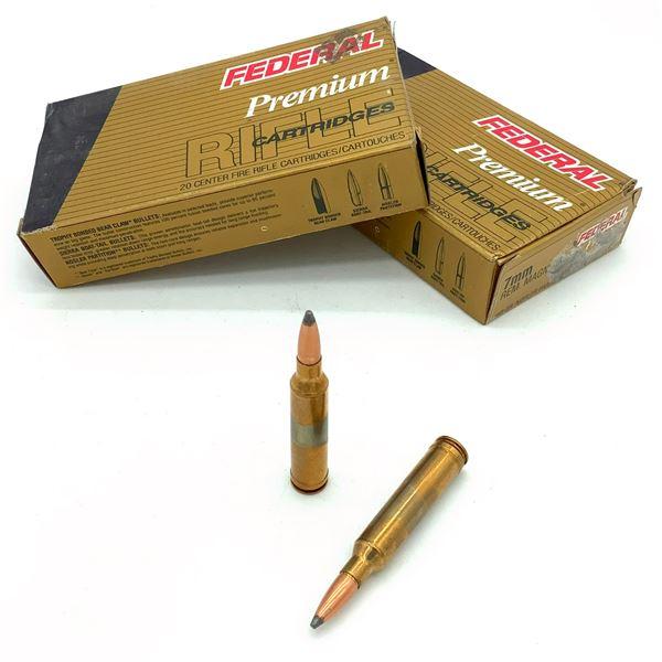 Federal Premium 7mm Rem Mag Ammunition - 40 Rnds