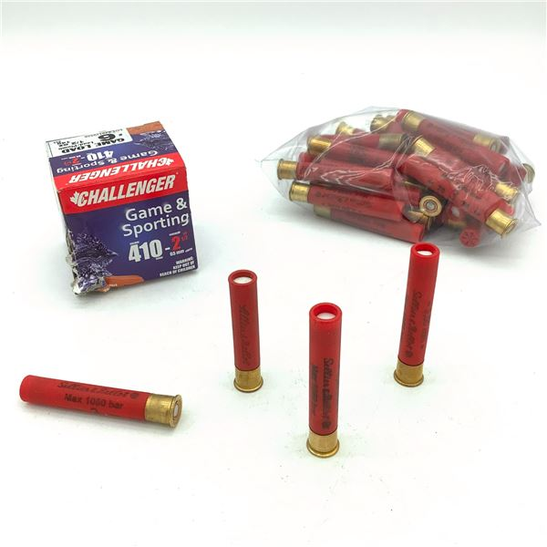 Assorted Loose 410 Ga Ammunition - 59 Rnds