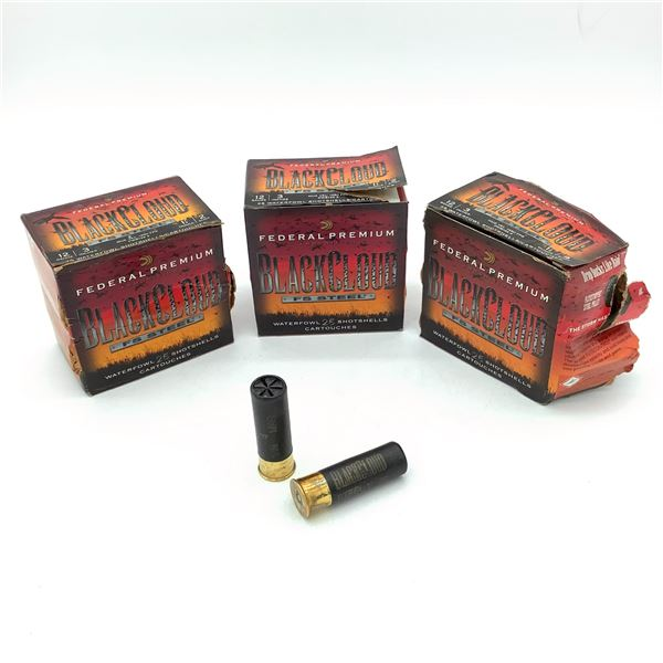 Federal Black Cloud 12 Ga Ammunition - 75 Rnds