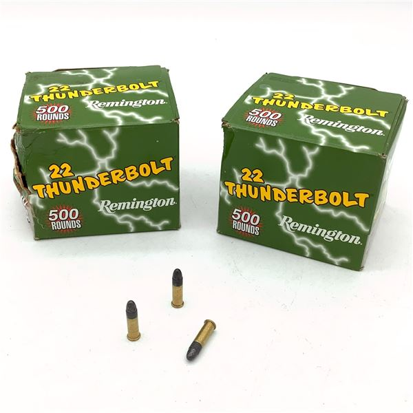 Remington 22 Thunderbolt, 22 LR, RN Ammunition - 884 Rnds