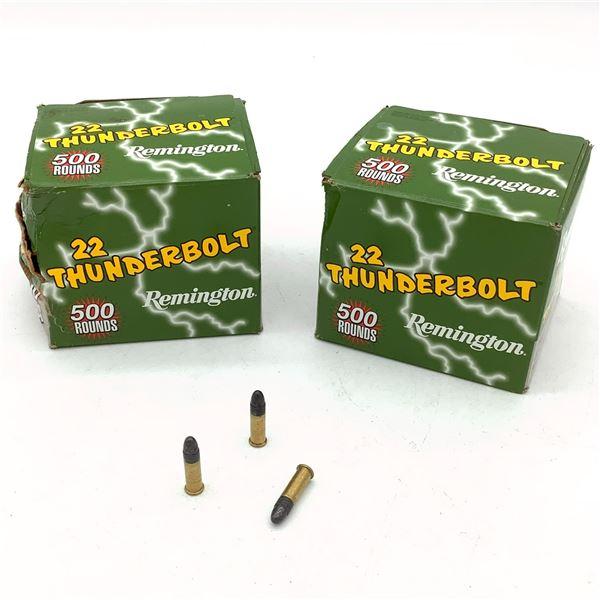 Remington 22 Thunderbolt, 22 LR, RN Ammunition - 884 Rnds