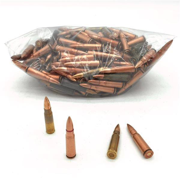 Assorted Loose 7.62 x 39 Ammunition - 191 Rnds