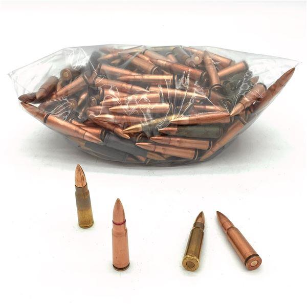 Assorted Loose 7.62 x 39 Ammunition - 191 Rnds
