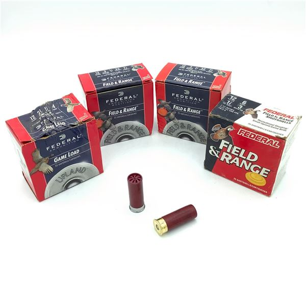 Assorted Federal 12 Ga Ammunition - 100 Rnds