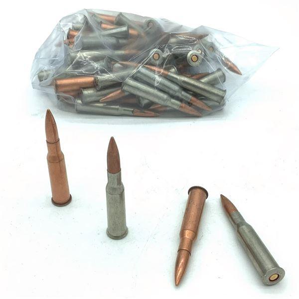 Assorted Loose 7.62 x 54R Ammunition - 62 Rnds