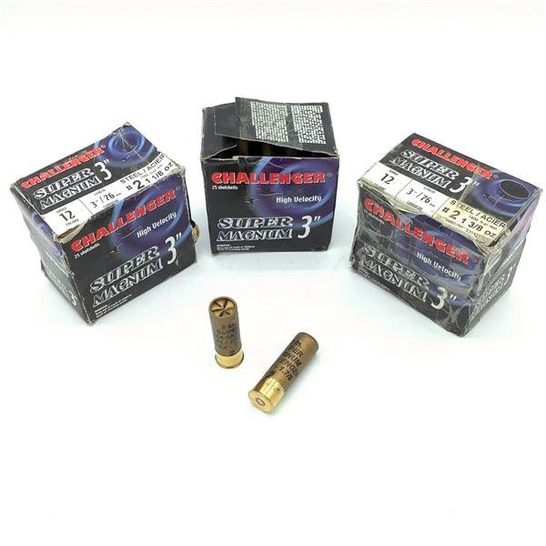 Challenger 12 Ga Super Magnum Ammunition - 71 Rnds