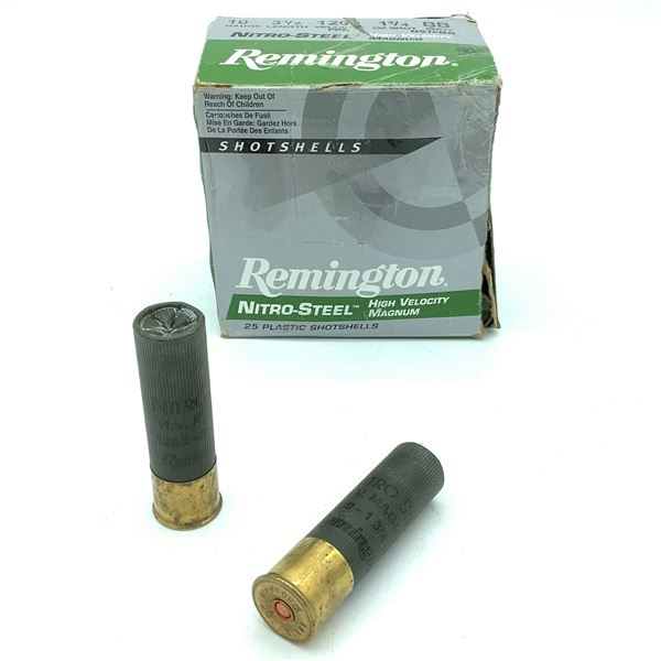 Remington 10 Ga Nitro - Steel Ammunition  - 25 Rnds